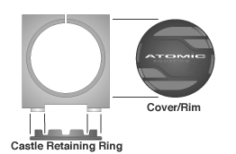 Atomic M1 Rim Clamp